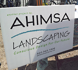 ahimsa-yard-sign