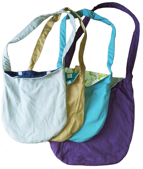 Velcro shoulder bags