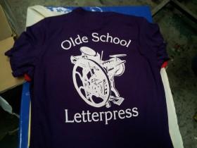 old school letterpress