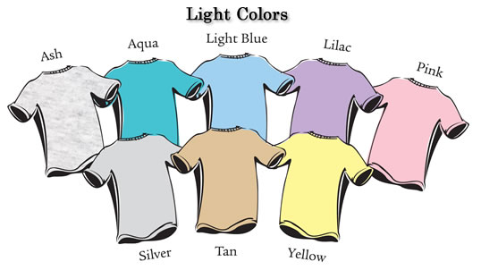 light colors