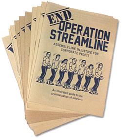 End Operation Streamline: Assemblyline Injustice for Corporate Profit