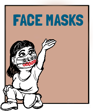 USA Made & Fair Trade Face Masks